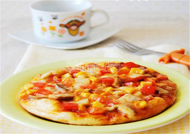 喜旺玉米香肠披萨
