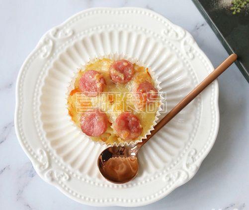 喜旺营养餐之米饭纸杯披萨
