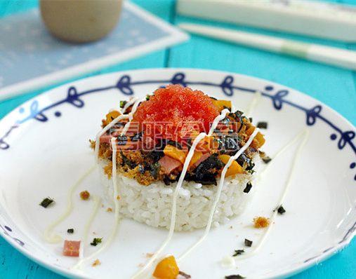 喜旺营养餐之鱼籽沙拉饭