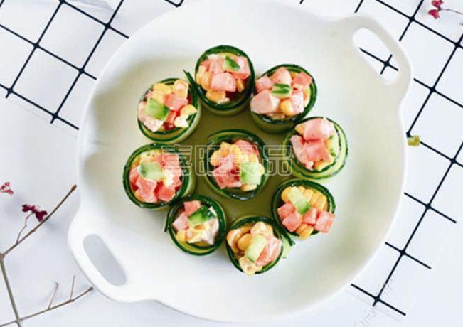 喜旺营养餐之彩色火腿沙拉