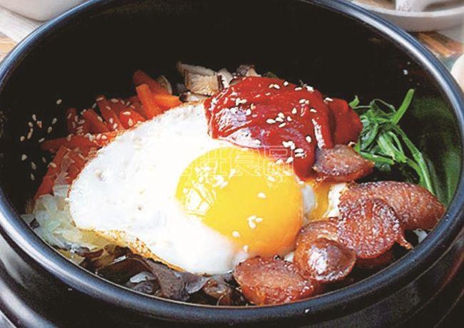 喜旺营养餐之香肠石锅拌饭