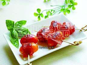 喜旺营养餐之番茄火腿卷